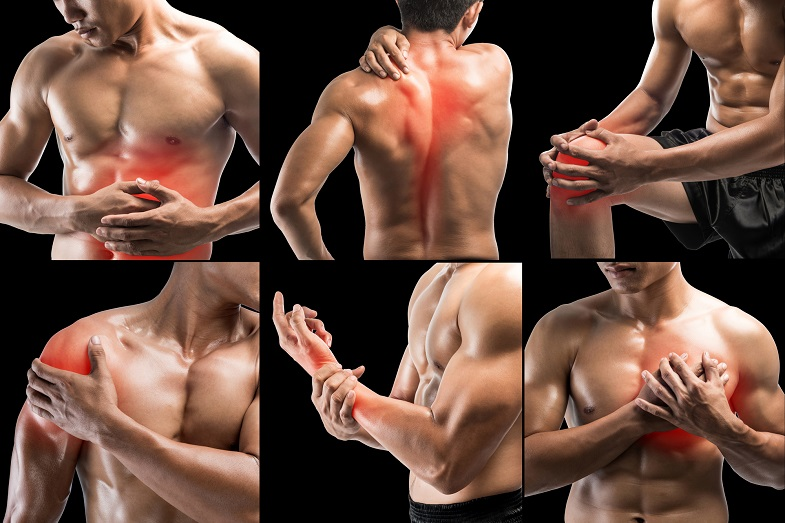 Back na joint pain caused by low testosterone