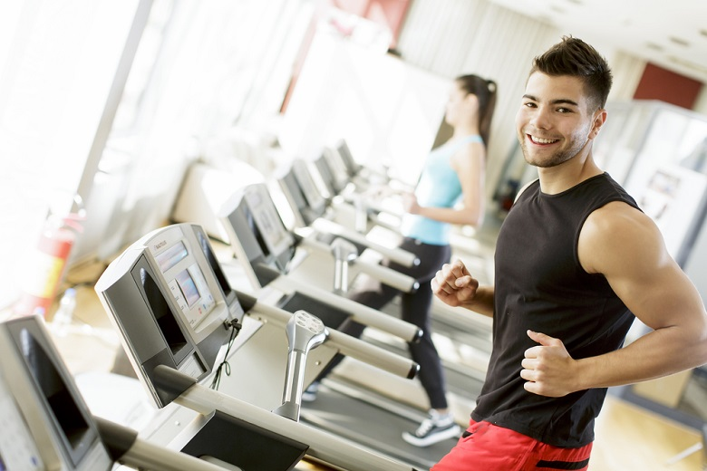 Cardio workout for busy men