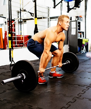 Deadlift - leg workouts for mass