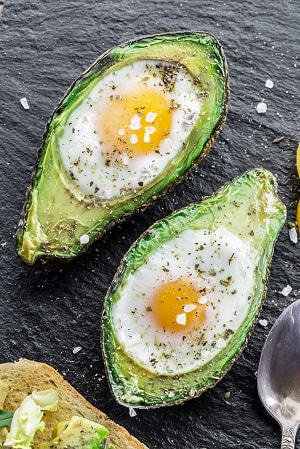 Lean muscle meal plan should include avocado and eggs