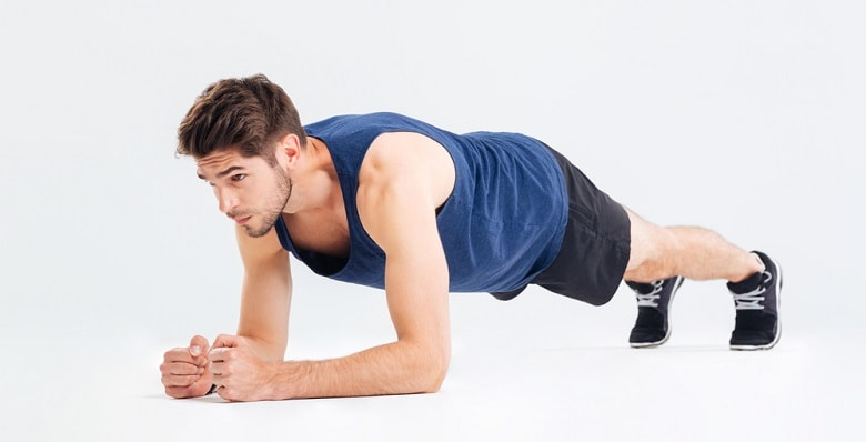 Planking workout